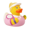 Tennis Player Girl Rubber Duck by LILALU bath toy | Ducks in the Window