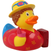 Holiday Vacation Rubber Duck by LILALU bath toy   Ducks in the Window
