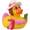 Holiday Vacation Female Rubber Duck by LILALU bath toy   Ducks in the Window