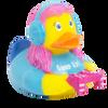 Gamer Girl Rubber Duck