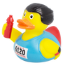 Marathon Runner triathlon Olympics  Rubber Duck by LILALU bath toy | Ducks in the Window
