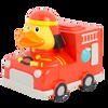 Fire Truck Fireman First Responder  Rubber Duck by LILALU bath toy | Ducks in the Window