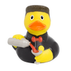 Bartender Barkeep Cocktails Rubber Duck by LILALU bath toy | Ducks in the Window