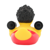 Body Builder Muscle Man Weight Lifting  Rubber Duck by LILALU bath toy | Ducks in the Window