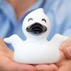 Halloween spooky ghost Rubber Duck by LILALU bath toy | Ducks in the Window