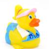 Workout Girl Rubber Duck