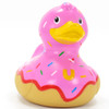 Donut Duck Rubber Duck Bath Toy by Bud Duck | (BudUSA) Ducks in the Window®