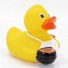 Barbecue BBQ Grilling Rubber Duck by Schnabels  | Ducks in the Window®