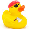 Pirate Crew (Red) Rubber Duck by Ad Line | Ducks in the Window®