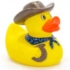 Cowboy (Brown) Rubber Duck by Ad Line | Ducks in the Window®