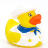 Cowboy (White) Rubber Duck by Ad Line | Ducks in the Window®