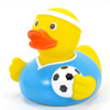 Soccer Player Rubber Duck