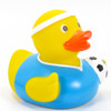 Soccer Player Rubber Duck by Schnabels | Ducks in the Window®