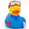 Snowboarder Rubber Duck by Schnabels | Ducks in the Window®