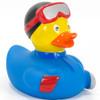 Snowboarder (blue) Rubber Duck