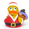 Christmas Santa Gifts Rubber Duck by Lanco 100% Natural Toy & Organic   Ducks in the Window®