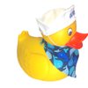 JPersonalized Rubber Duck with Sailor's Cap & Bandana | Ducks in the Window
