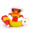 Beach Time Vacation Rubber Duck by Lanco 100% Natural Toy & Organic | Ducks in the Window®