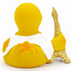 Paris Tower Rubber Duck by Lanco 100% Natural Toy & Organic | Ducks in the Window®