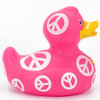 Symbol (Peace) Rubber Duck Bath Toy by Bud Ducks | Ducks in the Window®