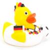 Soccer Fan Football Rubber Duck by Schnabels    Ducks in the Window®