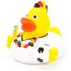Soccer Fan Football Rubber Duck by Schnabels  | Ducks in the Window®