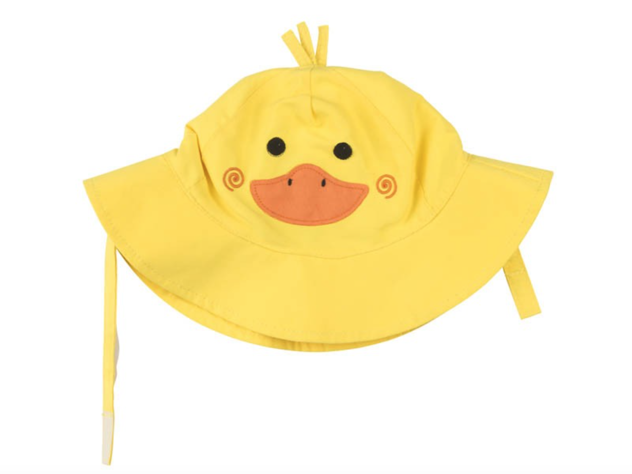 Girls Bucket Hat Wide Brim Terry Towelling Sun Protection Size 2,3,4,5,6,7 Yello