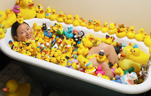 Guinness World Record Larges Rubber Duck Collection