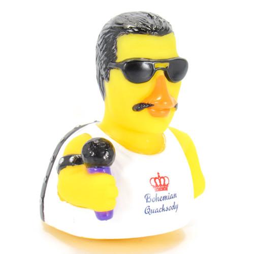 Bohemian Quacksody Queen Fredy Mercury Rubber Duck by Celebriducks | Ducks in the Window
