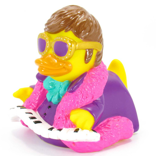 Quackodile Rock Elton John Rubber Duck by Celebriducks | Ducks in the Window