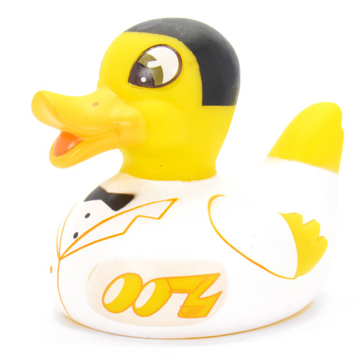 LED Glow 007 James Bond Rubber Duck Bath Toy by Locomocean | Ducks in the Window®
