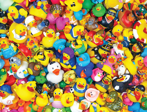 Rubber Ducky jigsaw puzzle by Springbok | Ducks in the Window