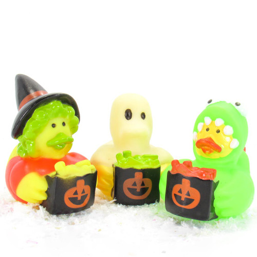 Halloween Costume Small Rubber Duck Gift Bundle | Ducks in the Window
