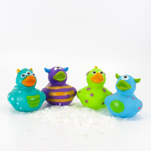 Monsters  Small Rubber Duck Gift Bundle   Ducks in the Window