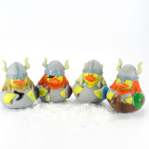 Vikings Small Rubber Duck Gift Bundle | Ducks in the Window