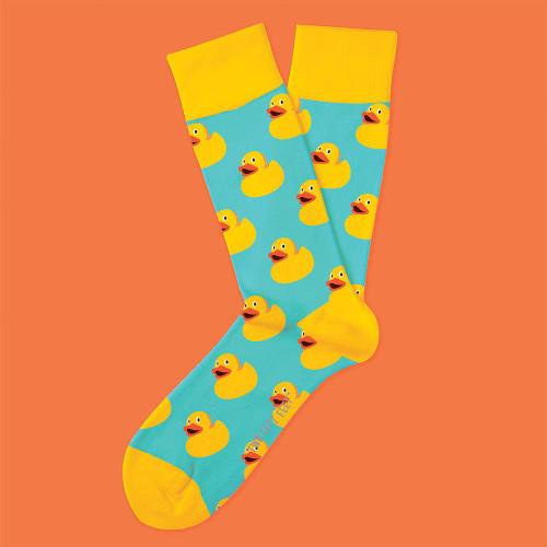Rubber Duck Socks by Two Left Feet Unisex | Ducks in the Window