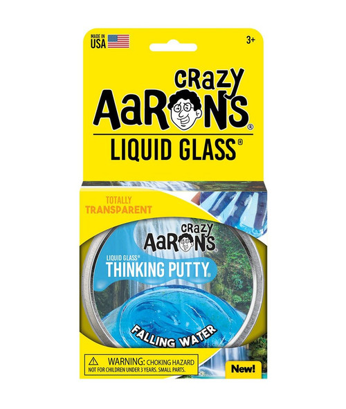 Liquid Glass Falling Waters Thinking Putty | Crazy Aaron
