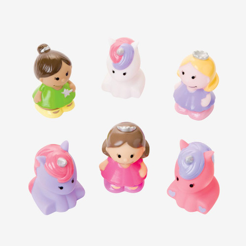 Princess Party Squirtie Baby Bath Toys | Elegant Baby