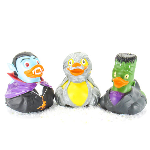 Halloween Bundle Set  Dracula, Frankenstein, and Mummy | Ducks in the Window