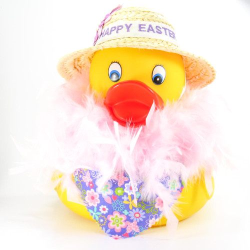 Personalized Jumbo Rubber Duck by Ducks in the Window Easter Special