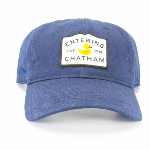 Entering Chatham Ducks in the Window Navy Blue Hat