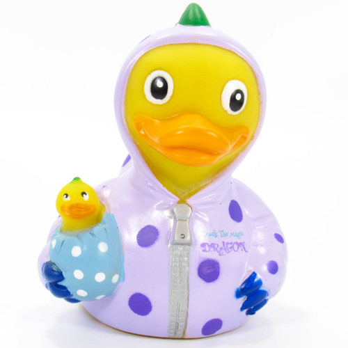 Duck The Magic Dragon Rubber Duck by Celebriducks | Ducks in the Window®