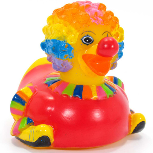 Clown Rubber Duck Circus by Ad Line   Ducks in the Window®