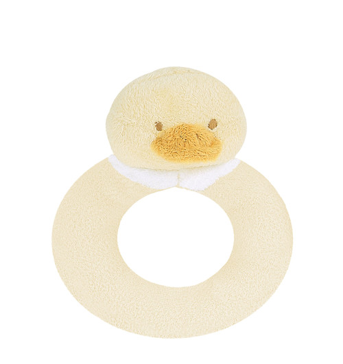 Ducky Ring Rattle | Angel Dear