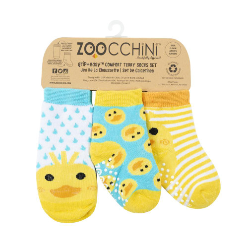 Zoocchini Baby Socks Set Ducky | Ducks in the Window