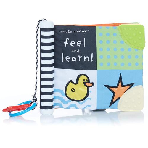 Amazing Baby Feel & Learn Soft Teether Book | Ducks in the Window