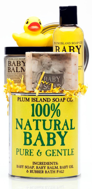 100% Natural Baby Gift Set | Plum Island Soap Co.