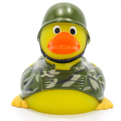 Army Rubber Duck by Ad Line | Ducks in the Window®
