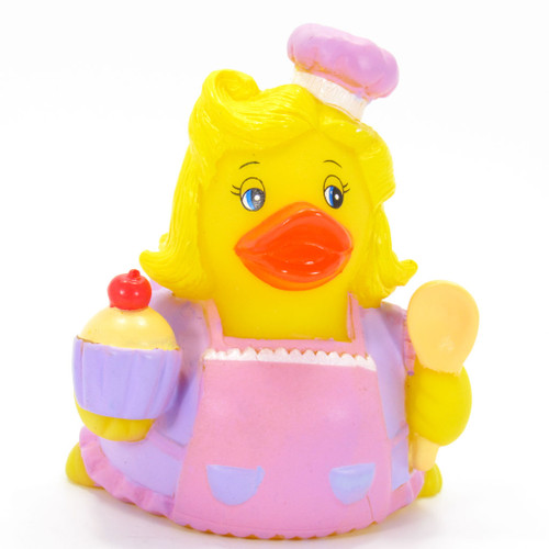 Baker Pink Rubber Duck by Ad Line | Ducks in the Window®
