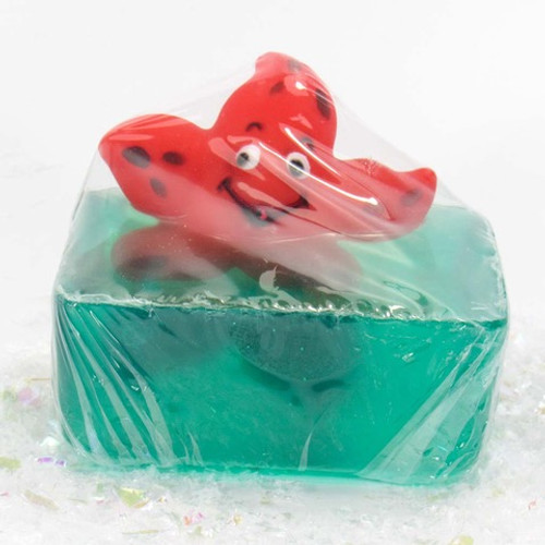 Starfish Squirter  Rubber Duck All Natural Soap by Heartland Fragrance | Ducks in the Window
